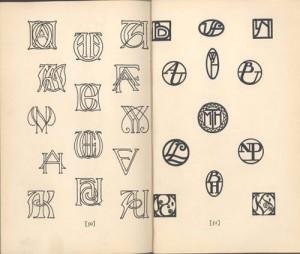 Antique Monograms.