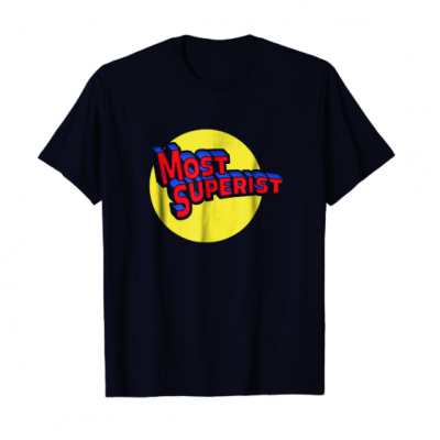 Craftyfish: Most Superist Super Hero Vintage Comic Book Tee