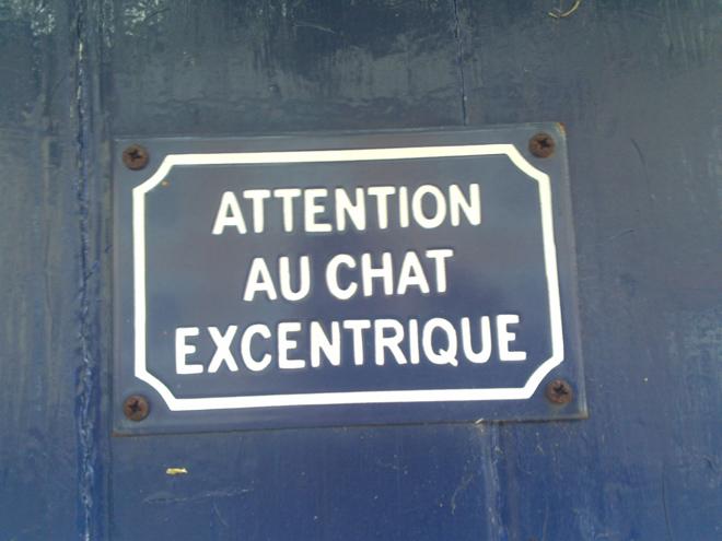 Eccentric chat