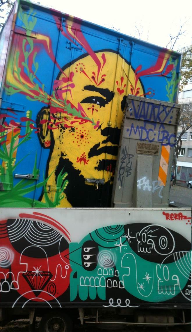 Parisian street art