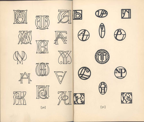 Antique Monograms.